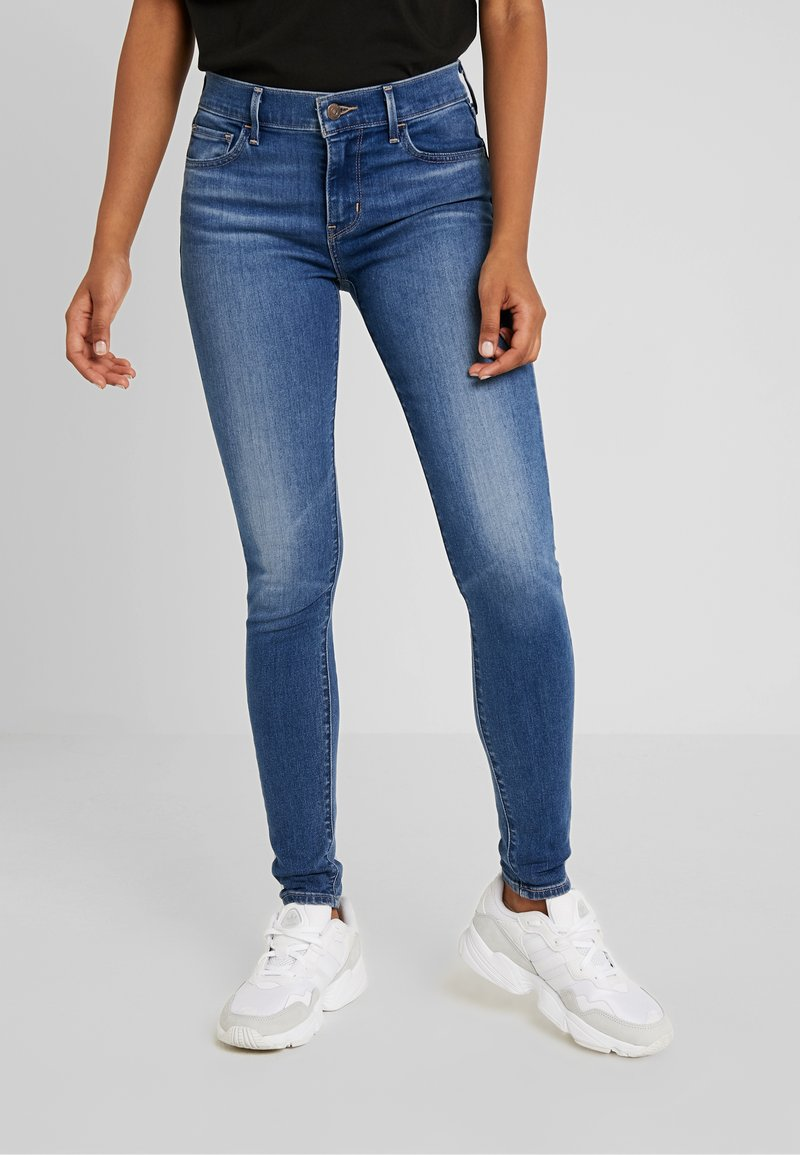 Levi's® - 710 INNOVATION SUPER SKINNY - Jeans Skinny Fit - powell face off