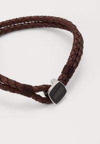 BOSS - SEAL - Náramek - dark brown - 2