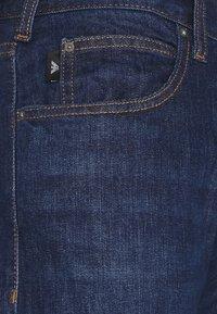 Emporio Armani - POCKETS PANT - Jeans slim fit - dark blue - 5