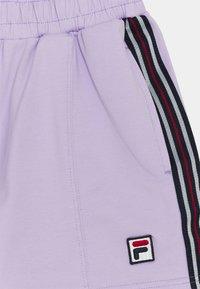 Fila - CLAIR TAPED - Kraťasy - pastel lilac - 2
