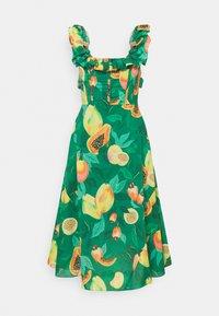 Farm Rio - PAPAYA SALAD MIDI DRESS - Day dress - multi coloured - 5