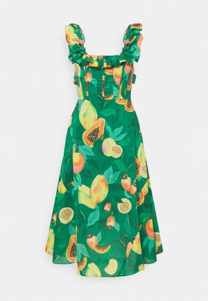 PAPAYA SALAD MIDI DRESS - Denní šaty - multi coloured