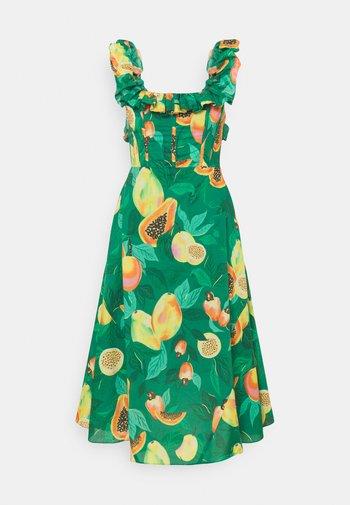 PAPAYA SALAD MIDI DRESS - Day dress - multi coloured