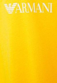 Emporio Armani - MAXI T-SHIRT - Nightie - saffron/white - 2