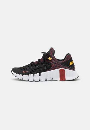 FREE METCON 4 UNISEX - Zapatillas de entrenamiento - black/dark cayenne-white/solar flare
