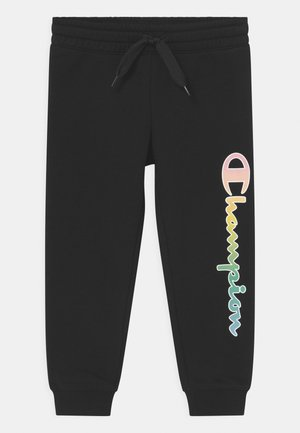 COLOR LOGO UNISEX - Joggebukse - black