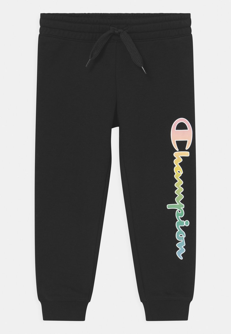 Champion - COLOR LOGO UNISEX - Jogginghose - black