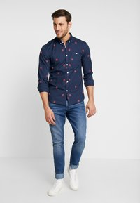 TOM TAILOR DENIM - Shirt - navy blue - 1