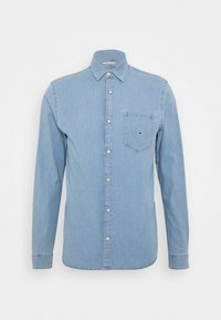 STRETCH SHIRT - Shirt - denim light