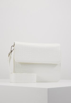 CAYMAN SHINY STRAP BAG - Olkalaukku - white