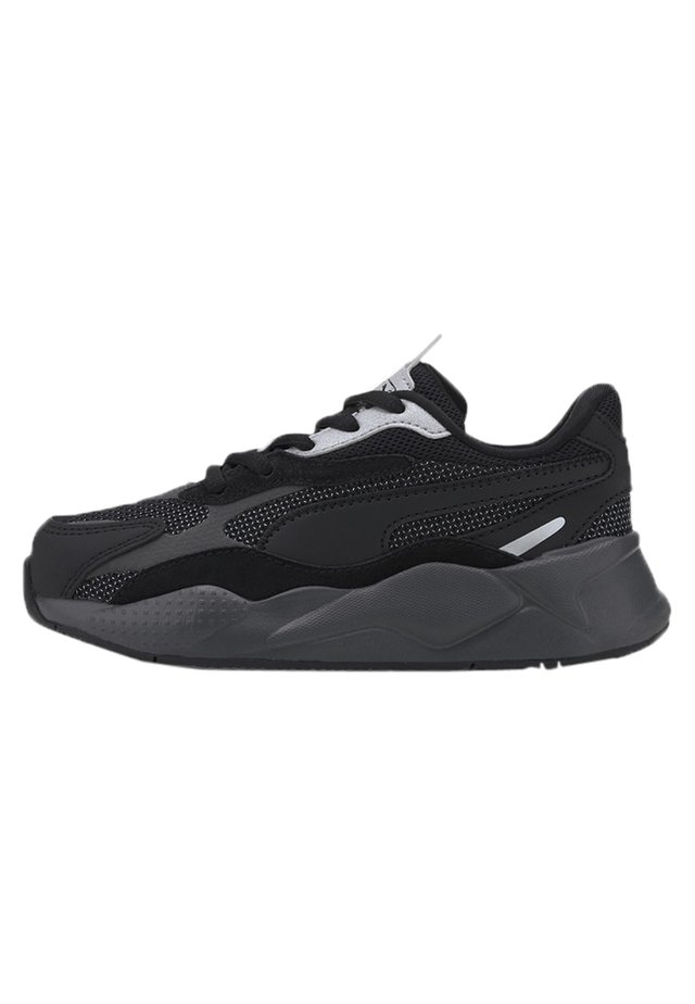 PUMA RS-X PUZZLE KIDS' TRAINERS UNISEX - Sneakers laag - black