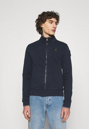 TRACK JACKET - Sweater met rits - navy