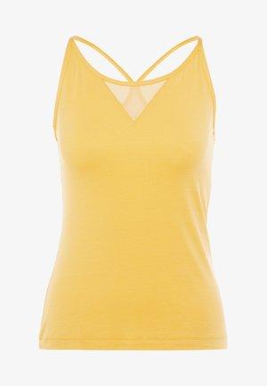CASALL LUSH STRAP RACERBACK - Top - golden yellow