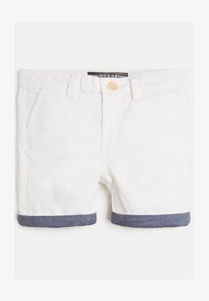 REGULAR FIT - Shorts - weiß