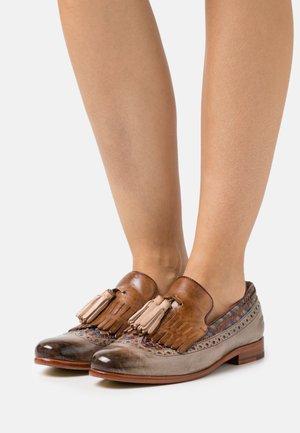 SELINA 3 - Loafers - pavia/oxygen/new haring bone/multicolor/tortora/white/natural