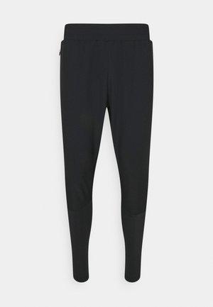 SPIRO TAPERED PANTS - Joggebukse - black