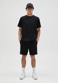 PULL&BEAR - 3 PACK - T-shirt - bas - white - 1