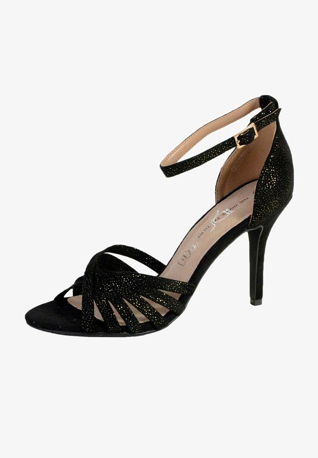 TALON  - Sandales à talons hauts - black