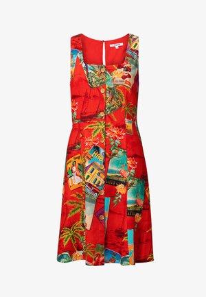 MONT ROYAL - Denní šaty - red