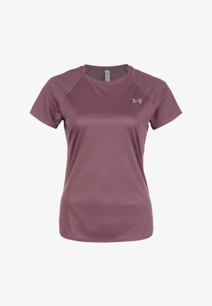 SPEED STRIDE  - Basic T-shirt - ash plum  reflective