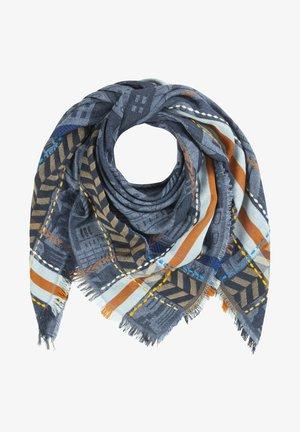 Foulard - blau/grau