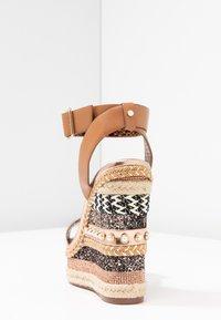 River Island - High heeled sandals - brown - 5