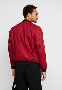 The Ragged Priest - JACKET - Bomber Jacket - burgundy/black - 2