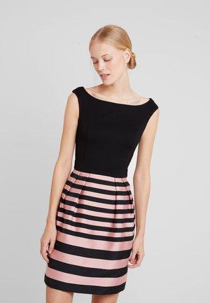 STRIPE DRESS - Kjole - black