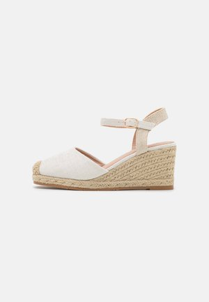 Wedge sandals - bianco