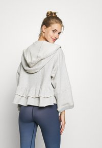 Free People - SIDE SWEPT HOODIE - Hoodie - grey - 2