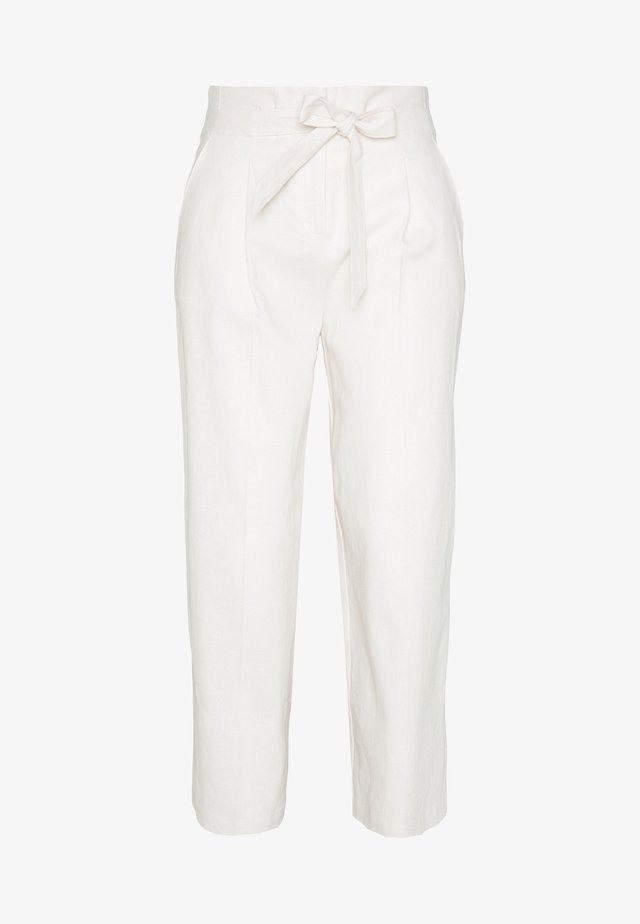 CULOTTE - Trousers - white beach