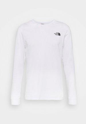 SIMPLE DOME TEE - Långärmad tröja - white