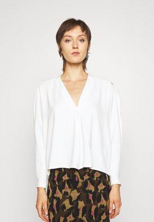 JANIC - T-shirt à manches longues - ecru