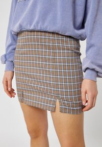 PULL&BEAR - A-line skirt - brown - 3