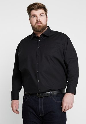 MODERN FIT KENT - Overhemd - black