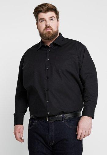 MODERN FIT KENT - Shirt - black