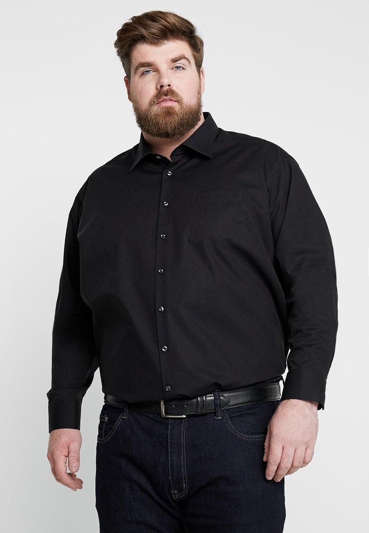 Seidensticker - MODERN FIT KENT - Shirt - black