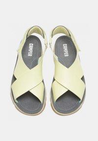 Camper - ORUGA - Sandalias de senderismo - light yellow - 1