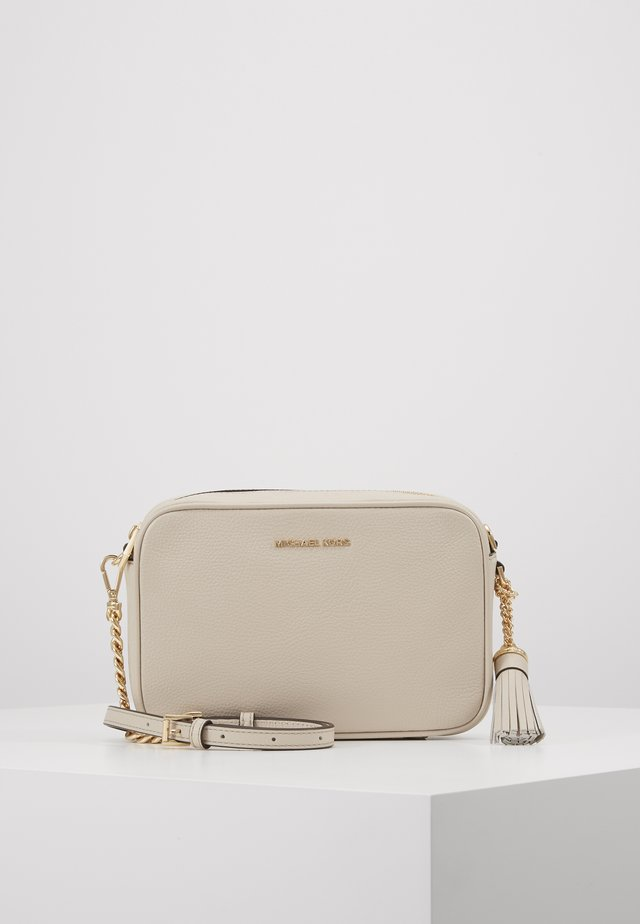 JET SET CAMERA BAG MERCER PEBBLE - Across body bag - light sand