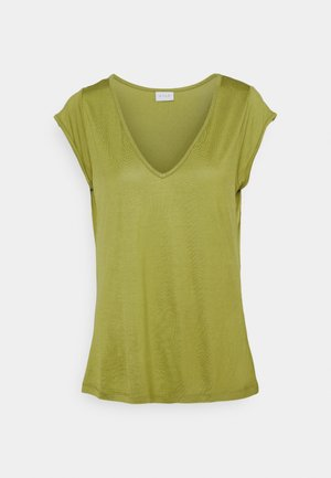 Basic T-shirt - green olive
