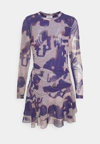 Weekday - VALLEY DRESS - Vardagsklänning - purple - 5