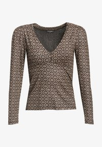 Vive Maria - GOLDEN LOVE - Blouse - schwarz allover - 6