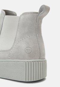 Tamaris - Kotníková obuv - soft grey - 5
