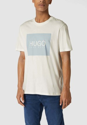 MIT BRAND-PRINT MODELL 'DOLIVE' - T-shirt imprimé - ecru