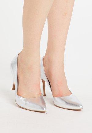 High heels - silber