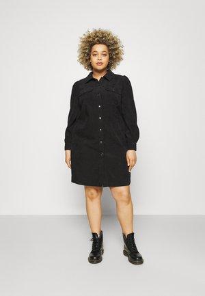 LIMA SHIRT DRESS - Kjole - black deep