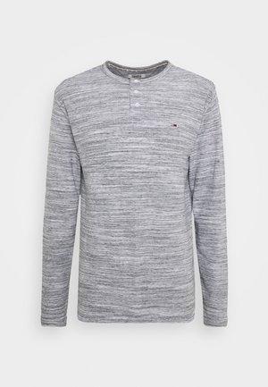 LONGSLEEVE TEXTURE TEE - Langarmshirt - light grey heather
