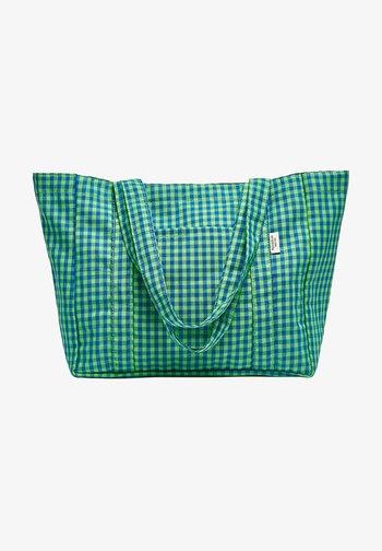 KARIERTE - Tote bag - green