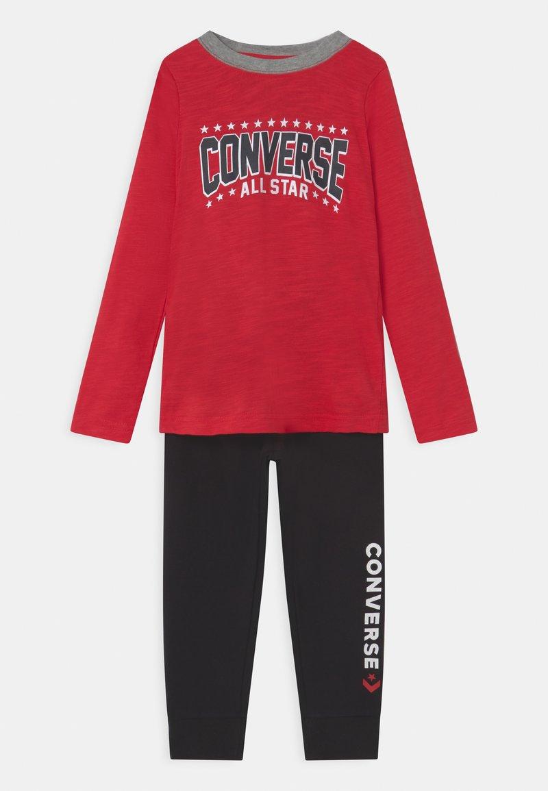 Converse - STAR SET UNISEX - Tepláková souprava - enamel red