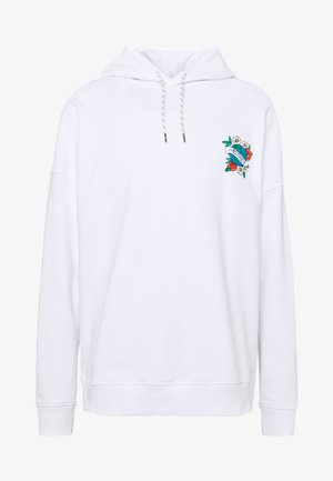 MOTHER HOODY - Felpa con cappuccio - white
